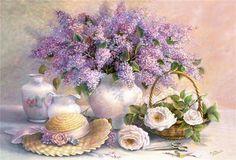 Paul de Longpre ~ Summer Fragrance
