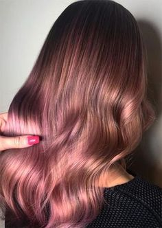 Rose Brown Hair Trend: Rose Brown Hair Colors Ideas