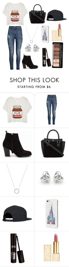 """""""Nutella"""" by kara-298 ❤ liked on Polyvore featuring H&M, Nly Shoes, Michael Kors, Georgini, Disney and Tory Burch"""
