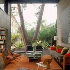 Modern Living Room Sitting Area View Design, Pictures, Remodel, Decor and Ideas - page 5