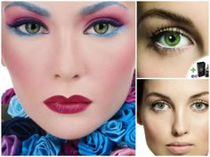 If you have ever wondered how you would look with different coloured eyes try these Mesmereyez Illusionz Coral Green Coloured Contacts.