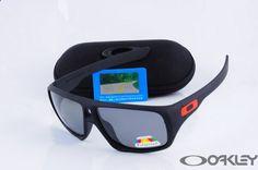 Oakley Polarized Dispatch Sunglasses matte black