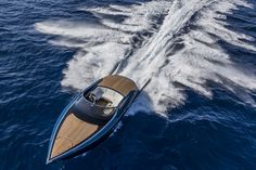 The 37-foot Aston Martin AM37 powerboat made its world debut at the Monaco Yacht Show, marking the luxury British brand's entry into the nautical world. The new day-cruiser is offered in two versions with the AM37S expected to reach speeds of 50 knots.
