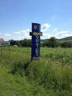 Almasu, Romania - where my maternal grandfather was born. (It was Varalmas, Hungary at the time.)    Photo taken June 2012