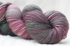 The Tempest with the Pink Parasol fingering merino - 2 skeins left!