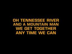 Alabama-Tennessee River (Karaoke)