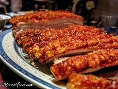 Schweinebraten mit Calvados Soße
