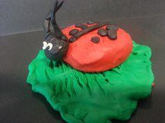 Ll is for ladybird Plasticine ladybird