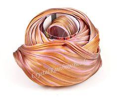Hey, I found this really awesome Etsy listing at https://www.etsy.com/listing/222170572/shibori-silk-ribbon-hand-dyed-silk-bias