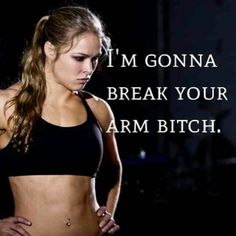 Rhonda Rousey is my spirit animal. This is absolutely something I would say. Ronda Rousey Wwe, Ronda Jean Rousey, Rowdy Ronda, Ufc Women, Ju Jitsu, Boxing Quotes, Boxing Workout, Mixed Martial Arts, Judo