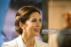 News Photo : Crown Princess Mary of Denmark visiting the...
