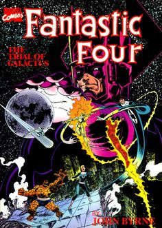 Fantastic Four: The Trial Of Galactus TPB (1989). Cover by John Byrne.
