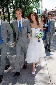 jos a bank tuxedos grey savoy tuxedo style 332 cobalt blue accessories