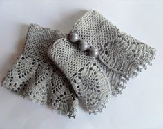 beautiful crochet lace gloves pattern - Google Search