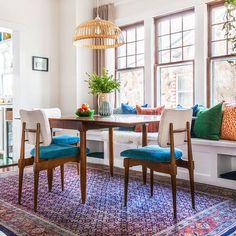 Experimental Decorating Enlivens a Missouri Craftsman | Design*Sponge