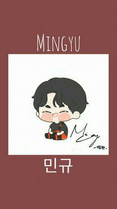 Mingyu, Seventeen, Fan Art, Fanart