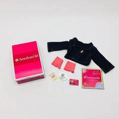 American Girl Doll Isabelle's Dance Accessories In Original Box + Charm Unused  | eBay
