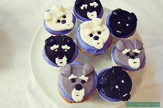 Schnauzer Cupcakes by Melissa Heard #Miniature #Schnauzer