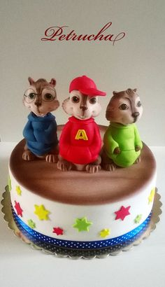 chipmunks cake