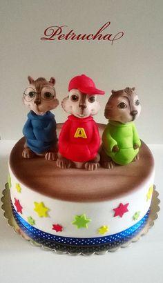 chipmunks cake