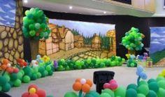 como fazer cenario para teatro floresta - Pesquisa Google
