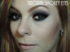 Tutorial Smokey Eyes Link: http://www.blogflordemulher.com.br/2015/10/tutorial-de-maquiagem-smokey-eyes-olho.html