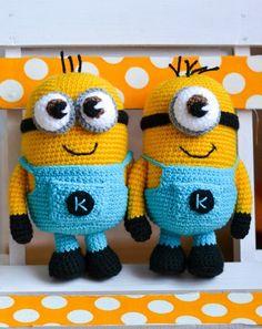 Crochet Pattern Minion von Magie Thread auf DaWanda.com