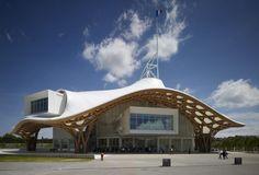 坂茂建築設計 / Shigeru Ban Architects 『ポンピ ドー・センター - メ ス』 http://www.kenchikukenken.co.jp/works/1300244164/1638/