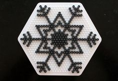 Snowflake hama perler beads - Crafts  DIY – Tuts+