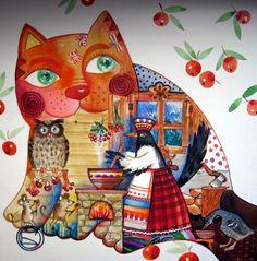 Saroka-Varoka*** by oxana zaika | ArtWanted.com