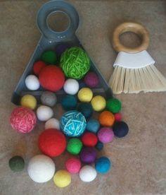 Montessori Sweeping Work Practical Life by MontessoriReStore