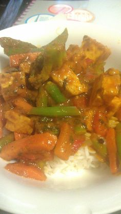 Tofu Tikka Masala- Costs around 12-15 dollars, takes half an hour and feeds 2-3 people.  (Or one INCREDIBLY HUNGRY person!) #vegetarian