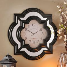 The elegant Calcutta Wall Clock is currently on sale for $29.98, compared to the regular price of $39.99. Sale ends 4/5.
