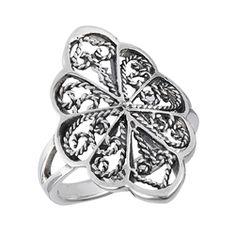 Small Filigree Ring