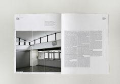 Projekt layoutu magazynu o architekturze on Editorial Design Served