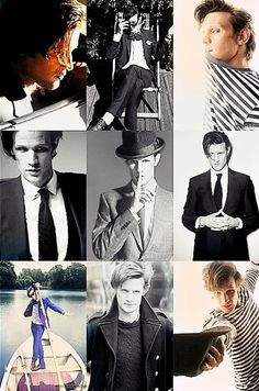 Matt Smith. {I especially like the one where he is trying to be all Neal Caffrey