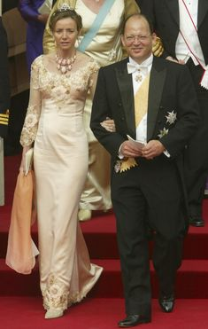 Crown Prince Kardam of Bulgaria and his wife Miriam Ungria