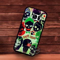 Suicide Squad Movie - Samsung Galaxy S7 S6 S5 Note 7 Cases & Covers