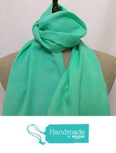 Scarf green - SC019 from Nazo Design… #handmadeatamazon #nazodesign