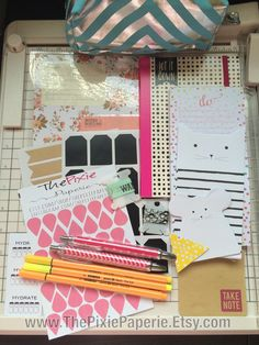Great Planner kit for your Erin Condren Life Planner, Filofax, Kikki K, Day Timer, Franklin Covey, Kate Spade, Plum Paper Planner or just to have