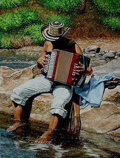 Tradición colombiana: Acordeón, vallenato y sombrero vueltiao, ay hombe!!!