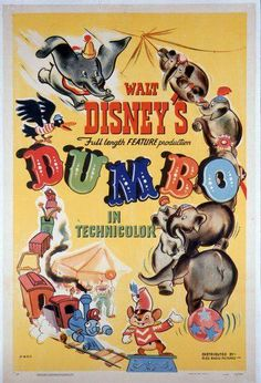 Today in Disney History: Dumbo made his high-flying debut on this date in 1941.