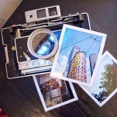 Polaroid 180 with Fuji FP100c silk! The camera...