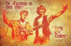 Image result for bill and ted's excellent adventure