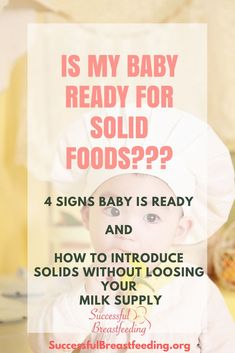 Your ultimate guide for starting solid foods with your breastfed baby. How to start solids without loosing milk supply. Learn about both spoon feeding with purees and baby led weaning.  starting solids baby breastfeeding, solid food for baby, solid food schedule for baby 6 months, home made baby food  #solidfoods #successfulbreastfeeding #babyledweaning #homemadebabyfood