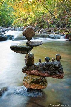 Image result for stacked rocks art