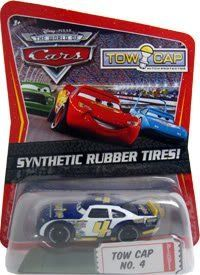 Disney / Pixar CARS Movie Exclusive 1:55 Die Cast Car with Sythentic Rubber Tires Tow Cap by Mattel. $23.95. Tow Cap (World of Cars - Kmart Exclusive with Synthetic Rubber Tires!) Disney Pixar Cars diecast toy. For Ages 3 & Up. Disney/Pixar Cars Kmart Exclusive Piston Cup Racer with Synthetic Rubber Tires from Mattel. Disney / Pixar CARS Movie Exclusive 1:55 Die Cast Car with Synthetic Rubber Tires Tow Cap