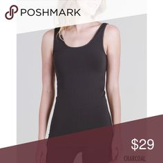 Luxuriously Soft Micro Modal Tank. Micro Modal Tank.   Meet MicroModal ®, the newest, softest and most luxurious fiber that has ever touched your skin! Refining the already-acclaimed Modal® yarn into super fine and heavenly soft fibers that boast a lighter weight & even softer touch, our MicroModal is the definition of high quality, indulgent fabric that will feel like second skin.  - Production process is eco- friendly Fabric 85% Micromodal 7% Nylon 8% Spandex Made in USA.  Prices are FIRM…