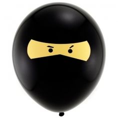 Ninja Latex Balloons (5)