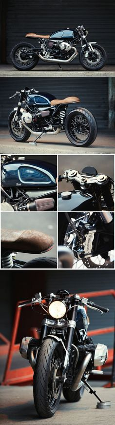 BMW R nineT Cafe Racer – Clutch Custom Motorcycles